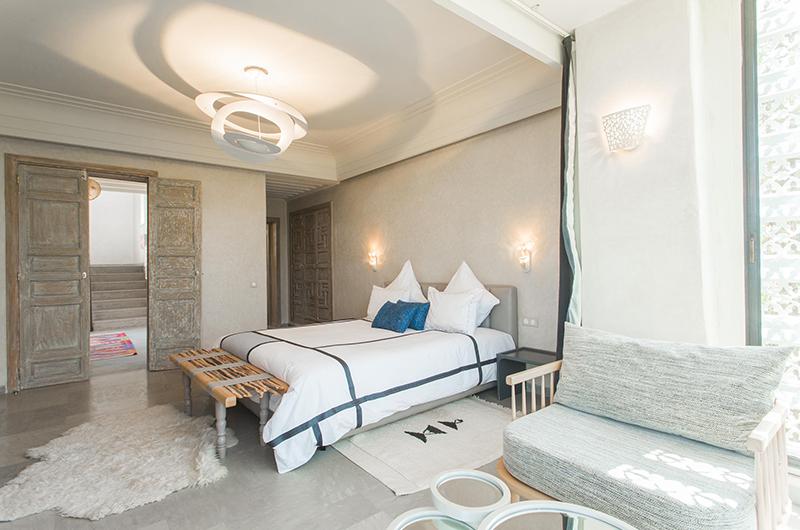 Villa Yenmoz Bedroom with Seating   Marrakech, Morocco