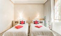 Villa Yenmoz Twin Bedroom | Marrakech, Morocco