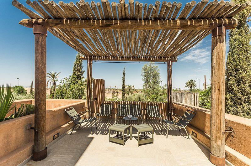 Villa Yenmoz Outdoor Seating | Marrakech, Morocco