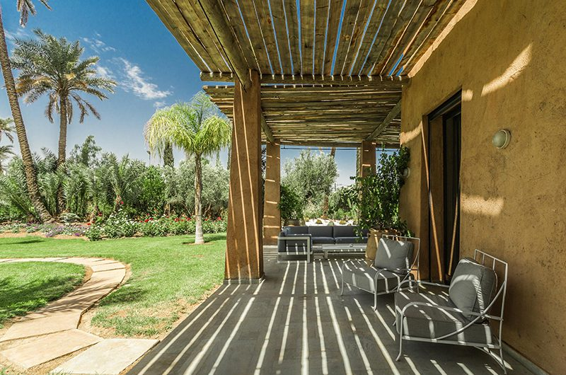 Villa Yenmoz Seating | Marrakech, Morocco