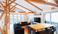 Casi 67 East Living Room with TV   Hirafu, Niseko