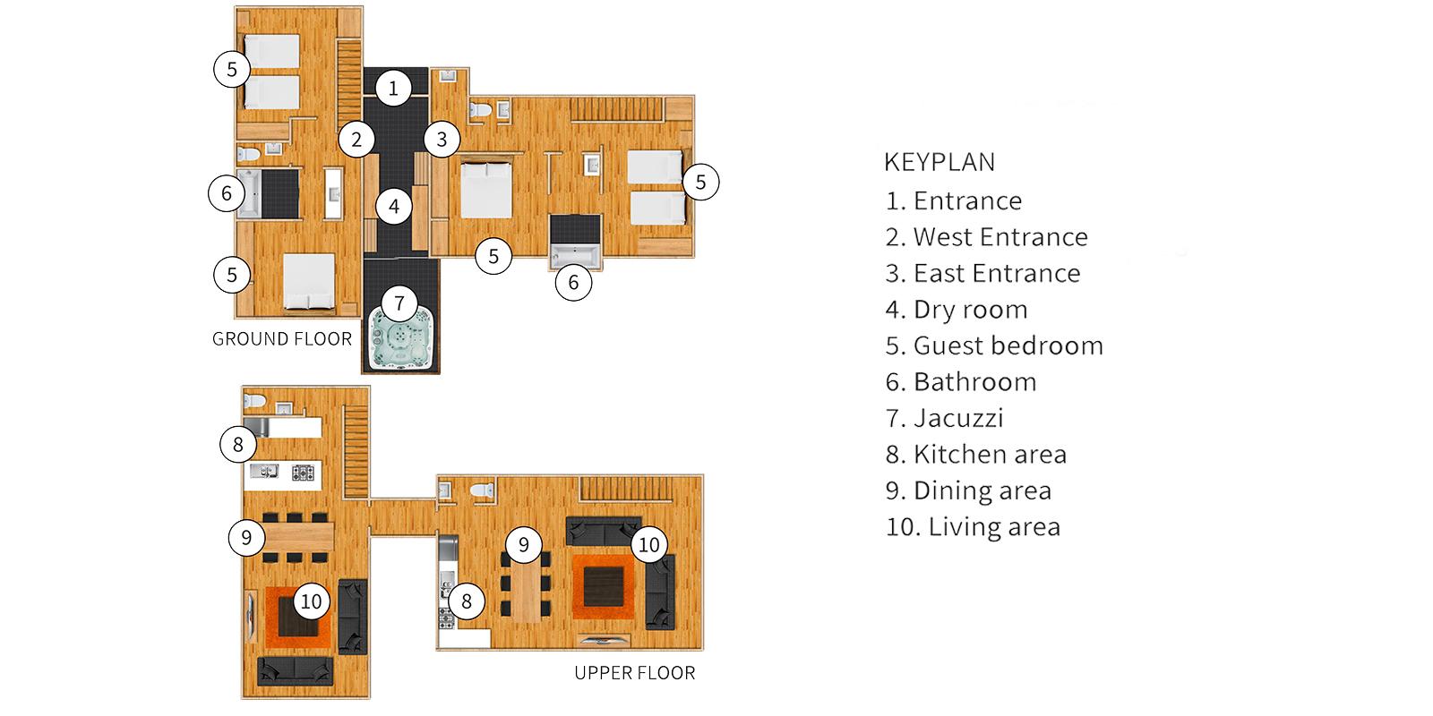 Casi 67 East Floor Plan | Hirafu, Niseko