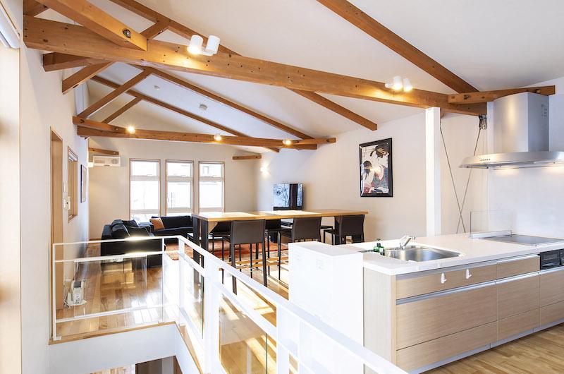 Casi 67 West Kitchen and Living Room | Hirafu, Niseko