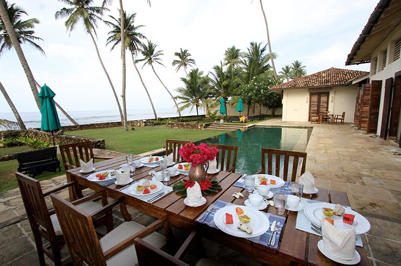 Ambalama Villa Sri Lanka Dining Table | Galle, Sri Lanka