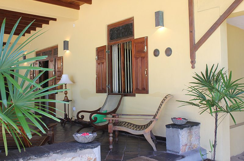 South Point Abbey Sitting Chair   Galle, Sri Lanka