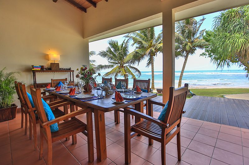 South Point Villa Dining Table | Galle, Sri Lanka