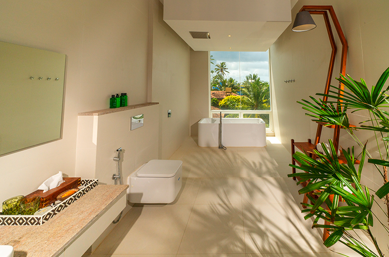 Villa Sielen Diva Yanai Bedroom Bathroom | Talpe, Sri Lanka