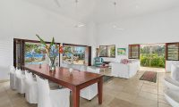 Villa Anouska Living Room | Efate, Vanuatu