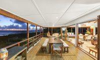 Villa Senang Masari Open Plan Dining Area | Efate, Vanuatu