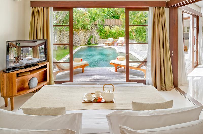 Bali Seminyak Villa Kubu Bedroom View