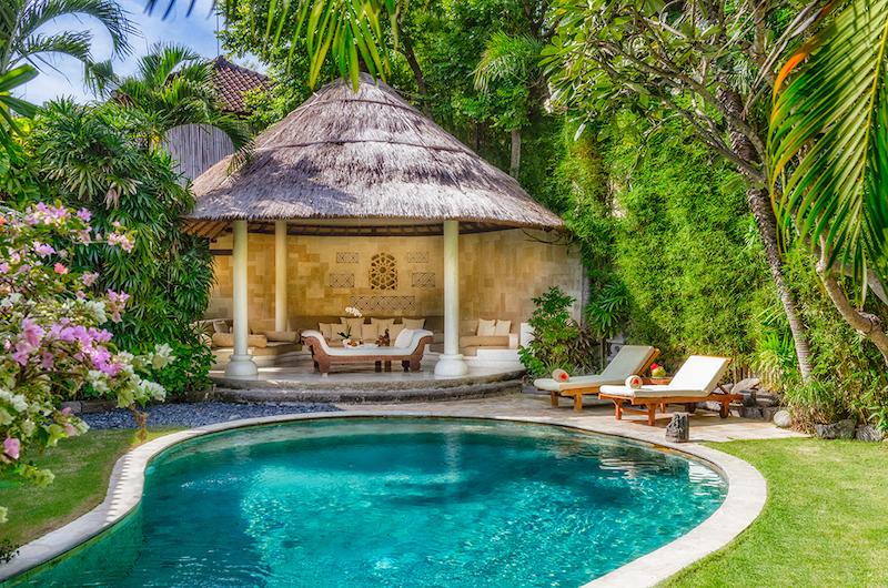 Bali Seminyak Villa Kubu Pool Pavilion