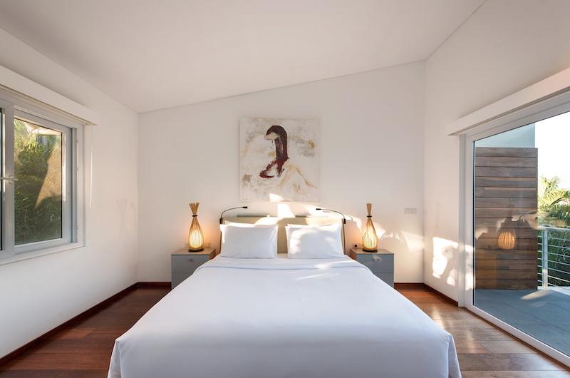 Villa Alocasia Bedroom with Lamps | Canggu, Bali