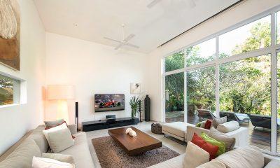 Villa Alocasia Living Room | Canggu, Bali
