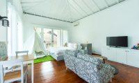 Villa Bianca Canggu Bedroom with TV | Canggu, Bali