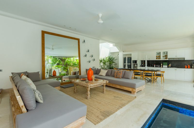 Villa Bianca Canggu Living Area | Canggu, Bali