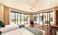 Villa Feronia Twin Bedroom with TV | Ungasan, Bali