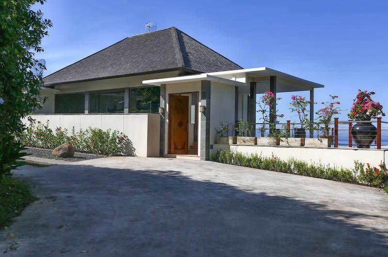Villa Gumamela Entrance | Candidasa, Bali