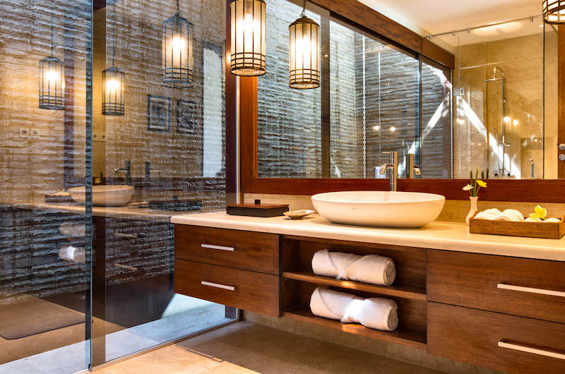 Villa Gumamela Bathroom One | Candidasa, Bali