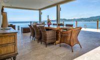 Villa Gumamela Open Plan Dining Area | Candidasa, Bali