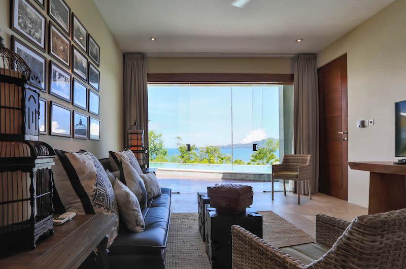 Villa Gumamela Living Area | Candidasa, Bali