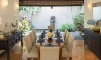 Villa Kubu 3 Dining Area | Seminyak, Bali