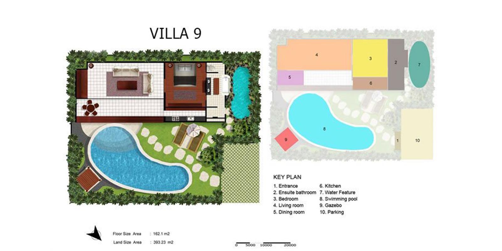 Villa Kubu 9 Floor Plan | Seminyak, Bali