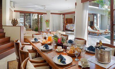 Villa Kubu Zero Dining Table | Seminyak, Bali