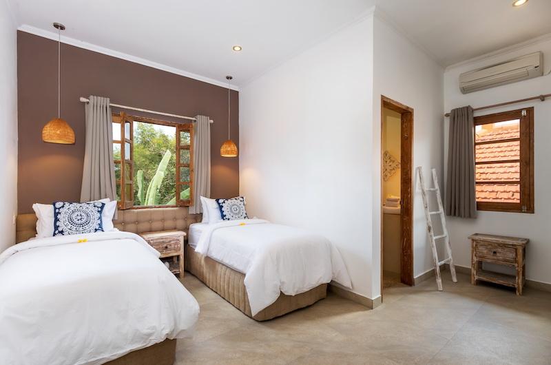 Villa Maya Canggu Twin Bedroom Area | Canggu, Bali