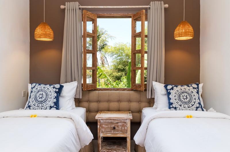 Villa Maya Canggu Twin Bedroom | Canggu, Bali