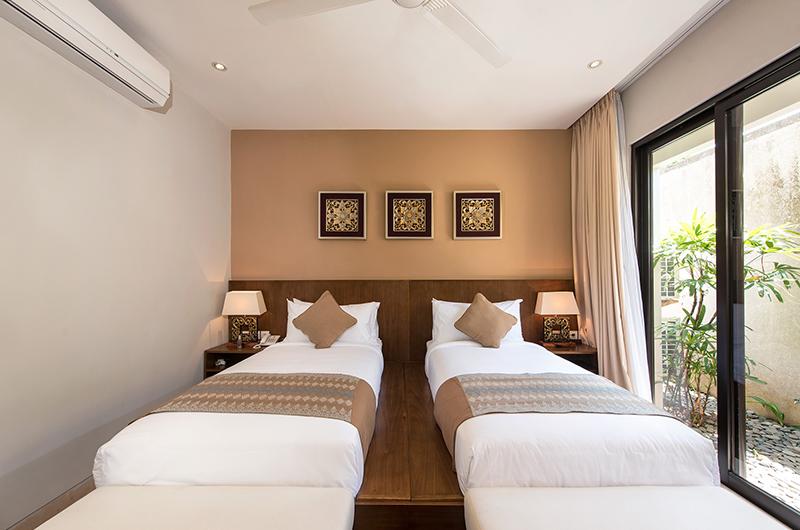 Villa Yamuna Twin Bedroom Side | Ungasan, Bali