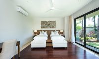 Villa Yamuna Twin Bedroom Area | Ungasan, Bali