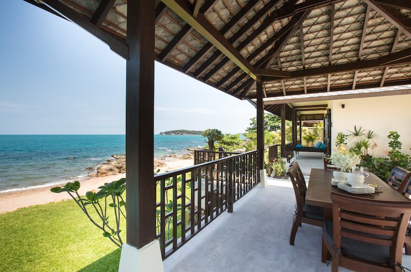 The Beach House Open Plan Dining Area | Chaweng, Koh Samui