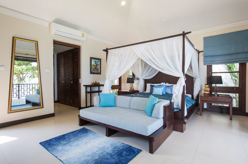 The Beach House Master Bedroom with Lamps | Chaweng, Koh Samui
