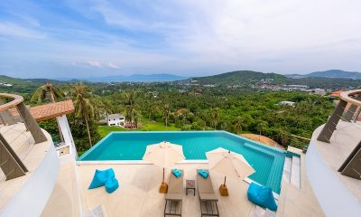 Villa Pearl Swimming Pool Area | Bophut, Koh Samui