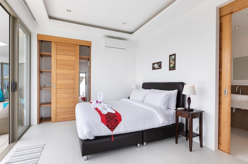 Villa Pearl Bedroom One Side | Bophut, Koh Samui