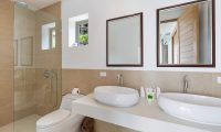 Villa Pearl His and Her Bathroom | Bophut, Koh Samui