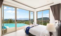 Villa Pearl Bedroom with Pool View | Bophut, Koh Samui