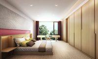 Hachi Bedroom Side | Hakuba, Nagano