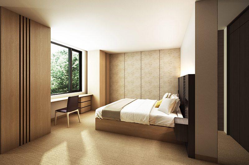Hachi Bedroom Area | Hakuba, Nagano