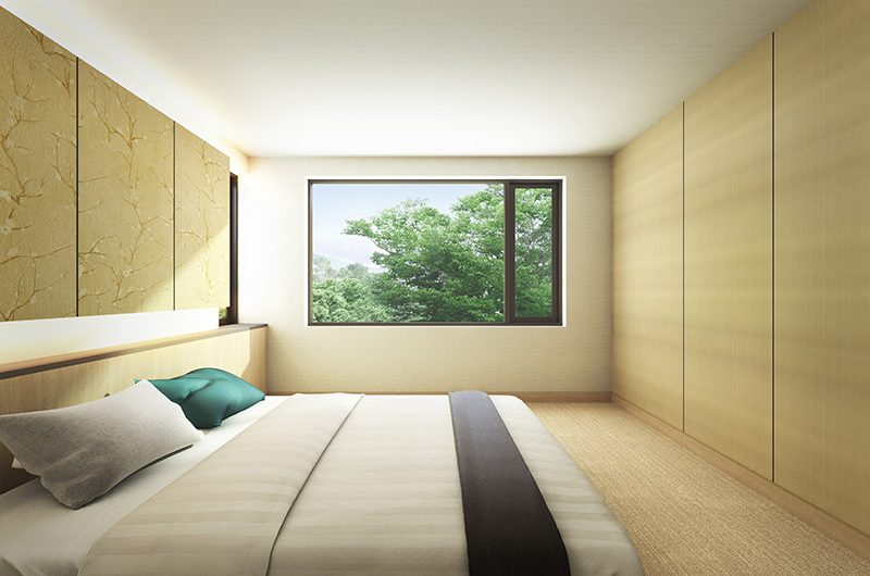 Hachi Bedroom | Hakuba, Nagano