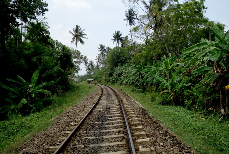 Sri Lanka Train Tracks