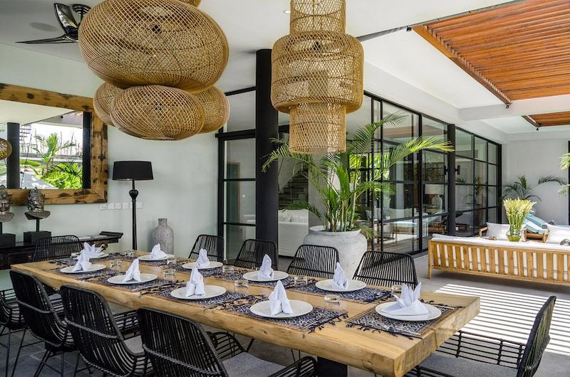 Canggu Beachside Villas Villa Gu Dining Area | Canggu, Bali