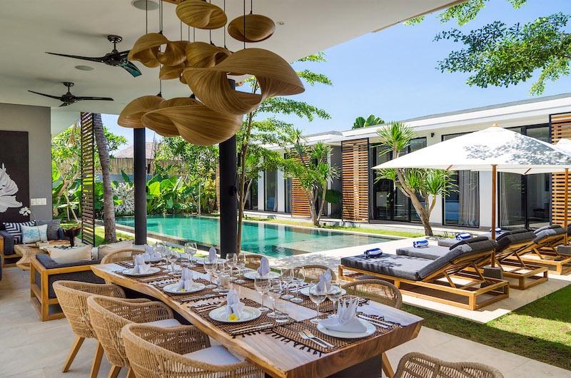 Canggu Beachside Villas Villa Vida Dining Area | Canggu, Bali