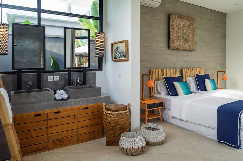 Villa Boa Bedroom with Enclosed Bathroom | Canggu, Bali