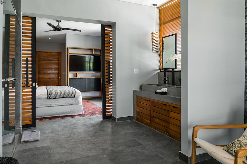 Villa Gu Bedroom with Enclosed Bathroom | Canggu, Bali