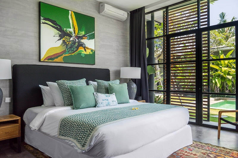 Villa Gu Bedroom with Seating | Canggu, Bali