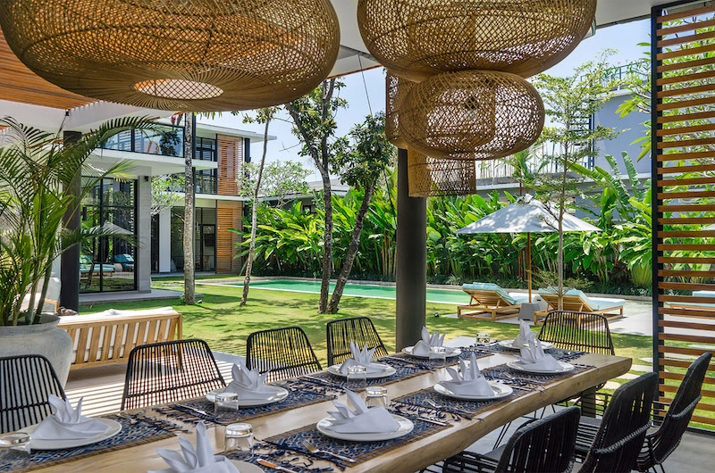 Villa Gu Dining Table | Canggu, Bali
