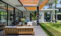 Villa Gu Outdoor Seating | Canggu, Bali