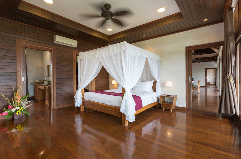 Villa Khaya Bedroom with Lamps | Nusa Dua, Bali