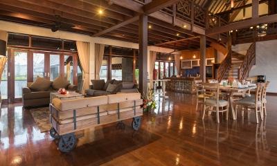 Villa Khaya Living Room | Nusa Dua, Bali